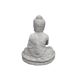 Buddha OM sitzend 19Kg | 47x39x26cm | sand