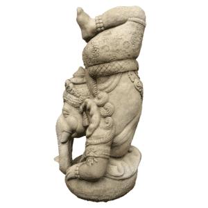 Ganesha Kopfstand 41Kg | 60x32x32cm | sand
