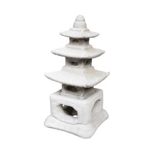Tempel Teelichthaus 13Kg | 46x24x24cm | sand
