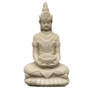 Lotus Buddha 32Kg | 65x35x26cm | sand