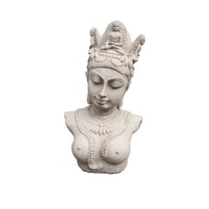 Shiva Büste 6,3Kg | 35x21x14cm | sand