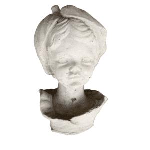 Beetstecker Engel Blatt 1Kg | 17x8x8cm | sand