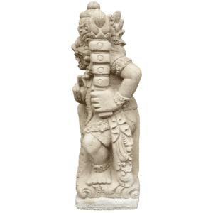 Tempelwächter rechts 29Kg | 63x20x20cm | sand