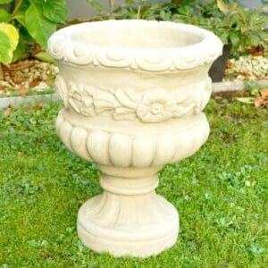 Vase – Schale groß 26,5Kg | 46x35x35cm | sand