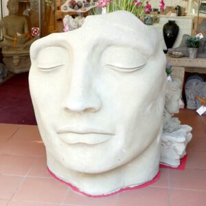 großes Gesicht ca. 225Kg | 108x87x57cm | sand