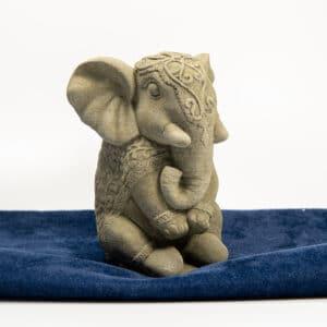 Mini Elefant 1,5Kg | 17x10x10cm | sand